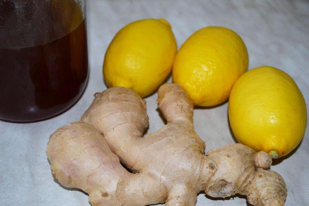 Имбирно лимонно медовое «варенье» от простуды